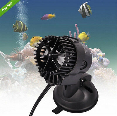 1000-3000 L/H 3W 360° Vague Pompe 24M Brassage Réglable Eau Aquarium Poisson