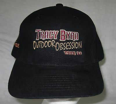 Tracy Byrd Outdoor Obsesson Tour 99 Mossy Oak Adjustable Ball Cap Hat