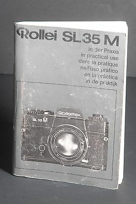 Rollei Rolleiflex SL35M In Practical Use Camera Instruction / Manual / Guide #1