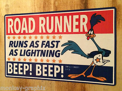Roadrunner RUNS Oldschool Sticker Aufkleber Hotrod Rockabilly US CAR V8 Beep