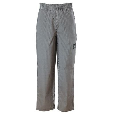 Chef Revival P020HT-M Houndstooth Medium Baggy Chef Pants