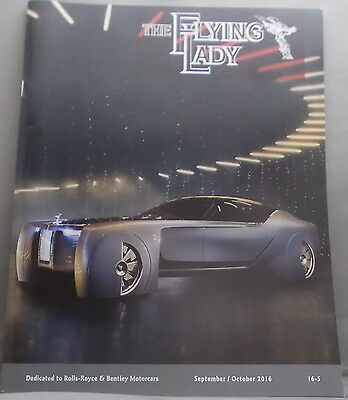 The Flying Lady  Rolls Royce And Bently Magazine September / October 2016