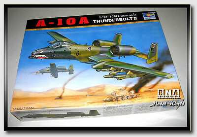 Trumpeter Model kit 1/32 A-10A Thunderbolt II Single Seat Fighter