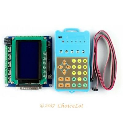 Upgrade 5 Axis CNC Breakout Board + LCD Display + Handle Controller Gcode Store