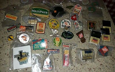 Lot of 40  Home Depot / Hardware Lapel Pins