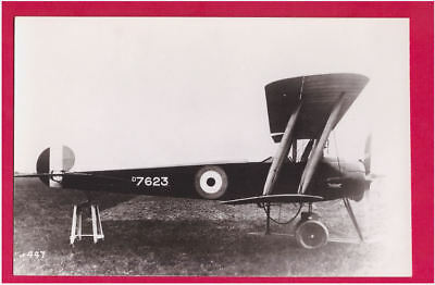 WWI RFC Avro 504K Trainer  Photo by Real Photographs Co Ltd