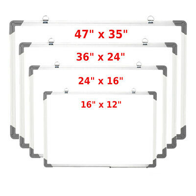 "Flash Magnetic Whiteboard 35x23""Dry Erase Drawing Board Office Eraser Marker Pen"