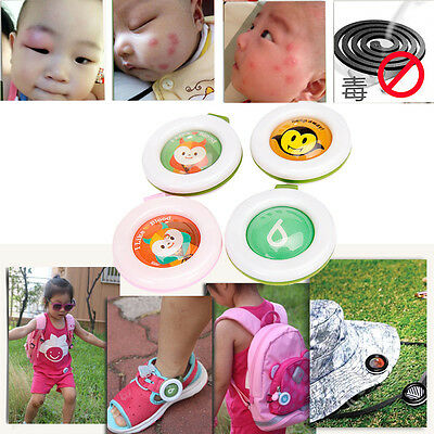 Mosquito Repellent Button Baby Kids Buckle Outdoor Anti-mosquito Repellent
