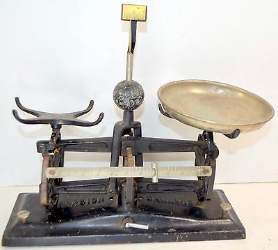 Vintage TORSION BALANCE #3500 5lb Pharmacy APOTHECARY SCALE
