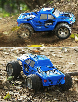 WLtoys A979 2.4G Monstruo Eléctrico 4WD High Speed 50km/h 1/18 Scale RC Coche