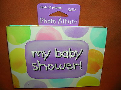 Creative Expressions Baby Me My Baby Shower! Mini Photo Album   UPC:073525670850