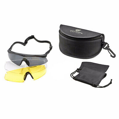 Brille Revision Sawfly MAX-Wrap Mission Kit regular schwarz