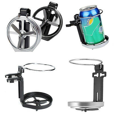 Universal Foldable Cup Holder Drink Bottle Stand Mount Fr Car Auto Truck Vehicle