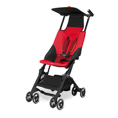 Silla de paseo Goodbaby Pockit Dragonfire Red Red