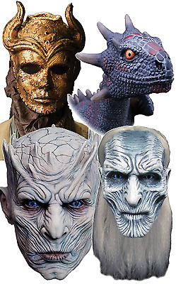 Adult Deluxe Game Of Thrones Cosplay Professional Fancy Dress Masks Props