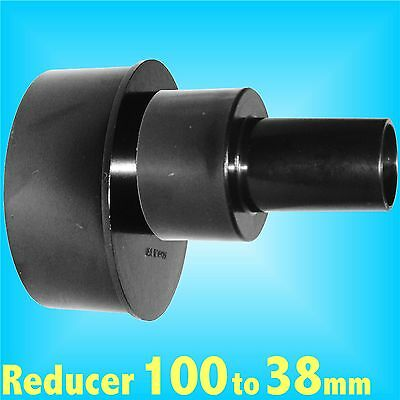 Reducer 100mm to 38mm for Dust Extraction Hose Charnwood SIP Record extractor