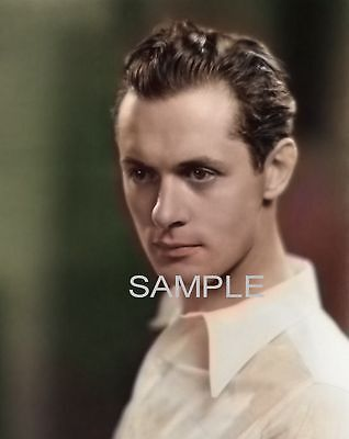 Robert Montgomery Color Tinted Photo