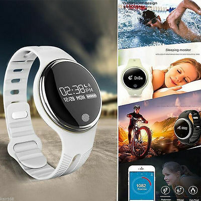 Quality E07 Bluetooth Smart Watch Bracelet Waterproof Healthy Pedometer Sport
