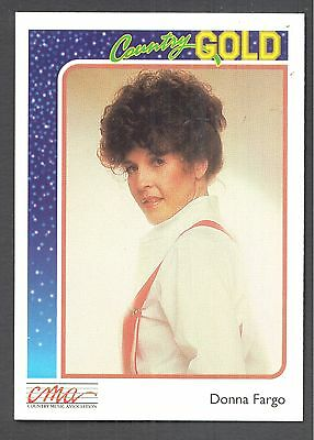 Donna Fargo, Country Music Star on a 1992 Country Gold Card #59