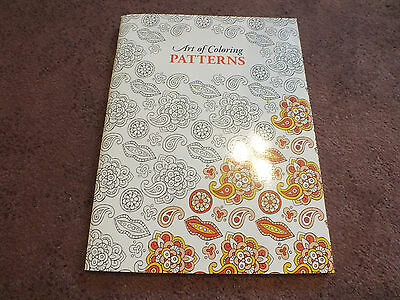 Leisure Arts Adult Coloring Book 24 Pages to Color PaTTerns Unused NICE