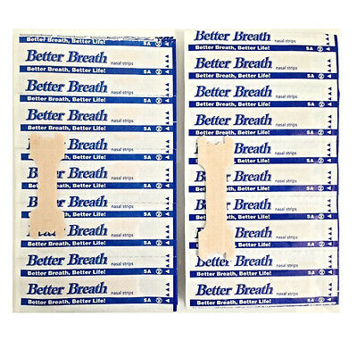 50 Better Breath Nasal Strips Sm/med Or Large Tan - Right Aid To Stop Snoring