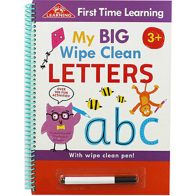 My Big Wipe Clean Letters by Jason Shortland (Paperback), Children's Books, New