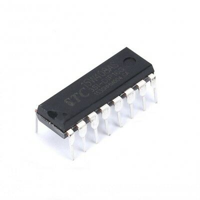1pcs STC STC15W408AS-35I-DIP16 MCU Integrated Circuit IC Chip