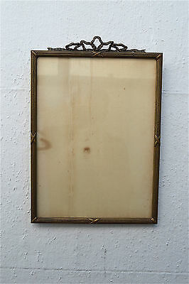 Original antique carved gilded wooden photo frame wall hanging picture frame