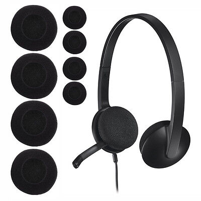35mm 60mm Headset Headphone Earphone Soft Foam Sponge Ear Pads Cover Hot