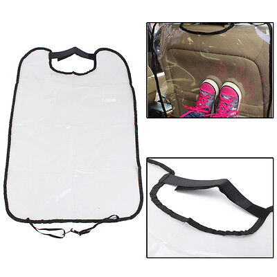PVC Auto Car Seat Back Protector Cover for Children Baby Kick Protective Mat Pad