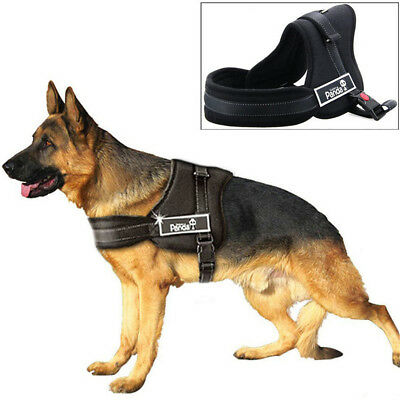 Dog Harness Adjustable Reflective Strong Soft Padded Medium Large Extra Large