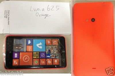 **High Quality** NOKIA Dummy Lumia 625 P6803 Orange Display Toy Fake (not real)