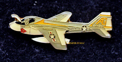 A-6 Intruder Va-65 Flying Tigers Ag Lapel Hat Pin Up Us Navy Pilot Crew Uss Wow