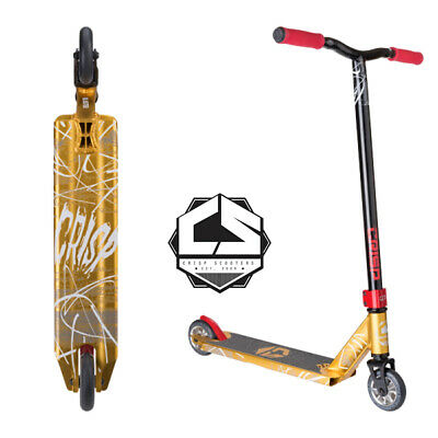 2017 Crisp Blaster Scooter Gold/Black  - FREE SHIPPING