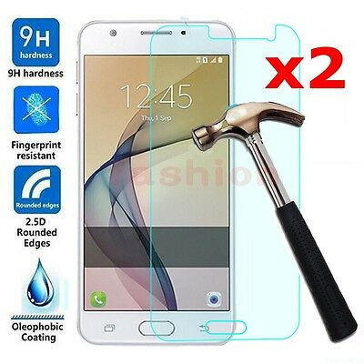 2Pcs 9H Tempered Glass Film Screen Protector For Samsung Galaxy J1 2 3 5 7 Prime