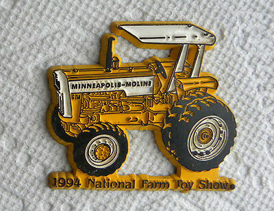 1994 National Farm Toy Show, Minneapolis-Moline MM Tractor, Dual Wheels,Magnetic