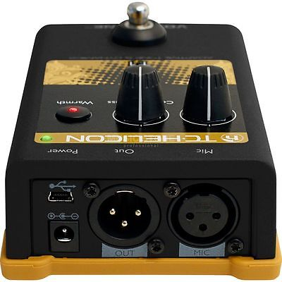 TC-Helicon TC-Helicon - Voice Tone T1 adapt. Tone and Dynamics Pedal
