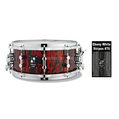 "Sonor Sonor - ProLite Snare PL 12 1406 SDWD, 14""x6"",Ebony White Stripes #76"