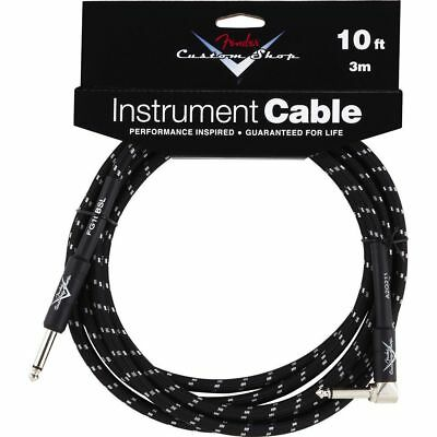 Fender Fender - Custom Shop Cable 3m BTW Black Tweed, Kli/WKli