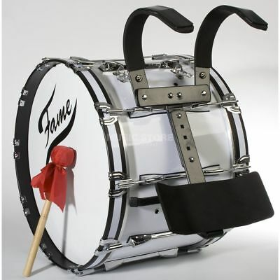 "Fame Fame - Professional Marching BassDrum 22""x14"", Birch, + Tragegestell"