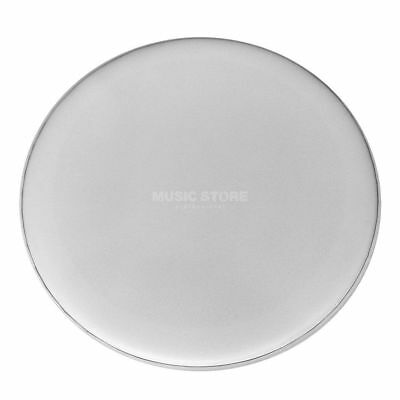 "Fame Fame - BassDrum Fell SC1, 22"", Coated White, Sound Control, o. Logo"