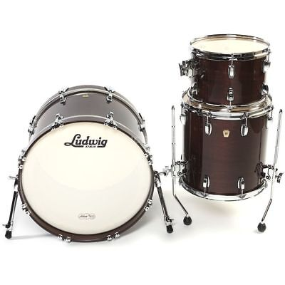 Ludwig Ludwig - Classic Maple MTS Downbeat, Mahogany Stain