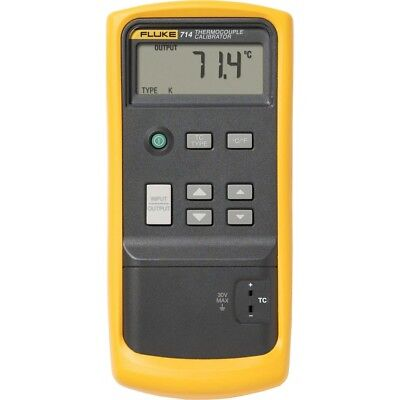 Fluke 714 (RENTAL ONLY) Thermocouple Calibrator used for calibration of environm
