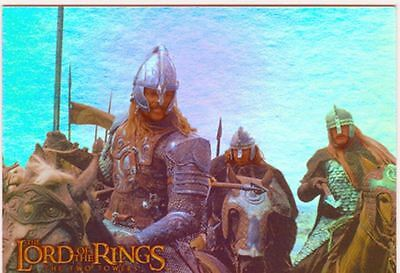 Lord Of The Rings TTT Prismatic Foil Chase Card 9 Of 10
