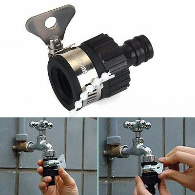 Garden Water Hose Tap Connectors Universal Faucet For Irrigation Watering Fit