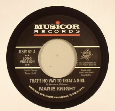 """KNIGHT, Marie - That's No Way To Treat A Girl - Vinyl (7"""")"""