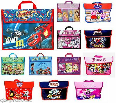 Girls Boys Childrens Kids Back to School Book Bag Bags Disney PAW Patrol