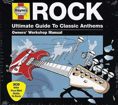 Haynes - The Ultimate Guide To Classics Rock Anthem (New Sealed 3Cd)