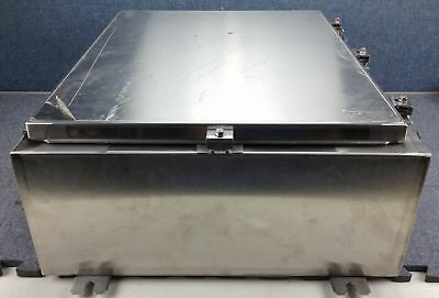 E-Box Stainless Steel Hinged Junction Enclosure Box 24 x 20 x 8 Nema 4X