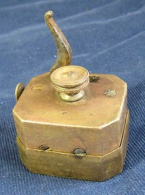 Antique XIX cent rare medical brass 12 Blades Blood Letting bleeder Scarificator